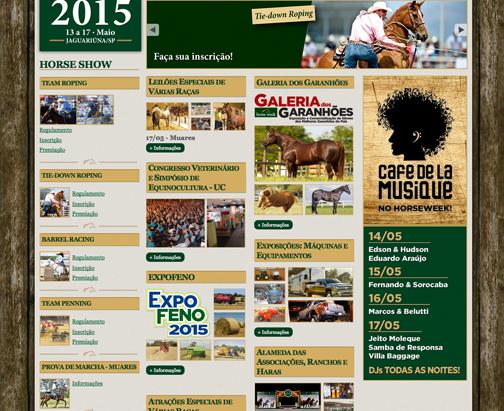 Horse Week será o super evento do agronegócio em Jaguariúna