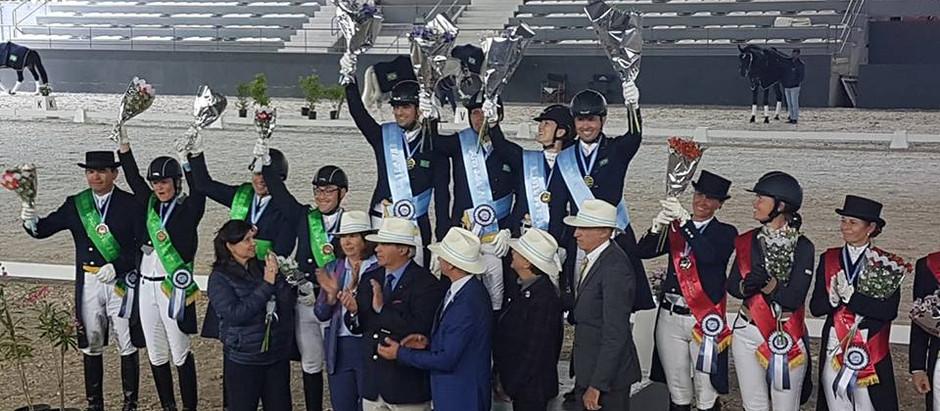 Na Argentina, Time Brasil garante vaga no Pan: Adestramento é campeão; Salto é vice.