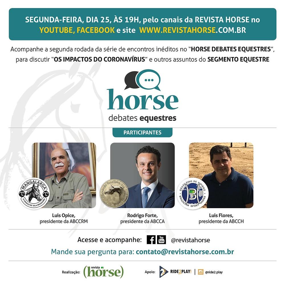 Debates equestres Revista Horse