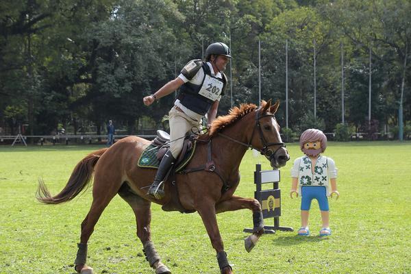 Brasileiro e Internacional de Concurso Completo Equitação movimentam o Clube Hípico de Santo Amaro
