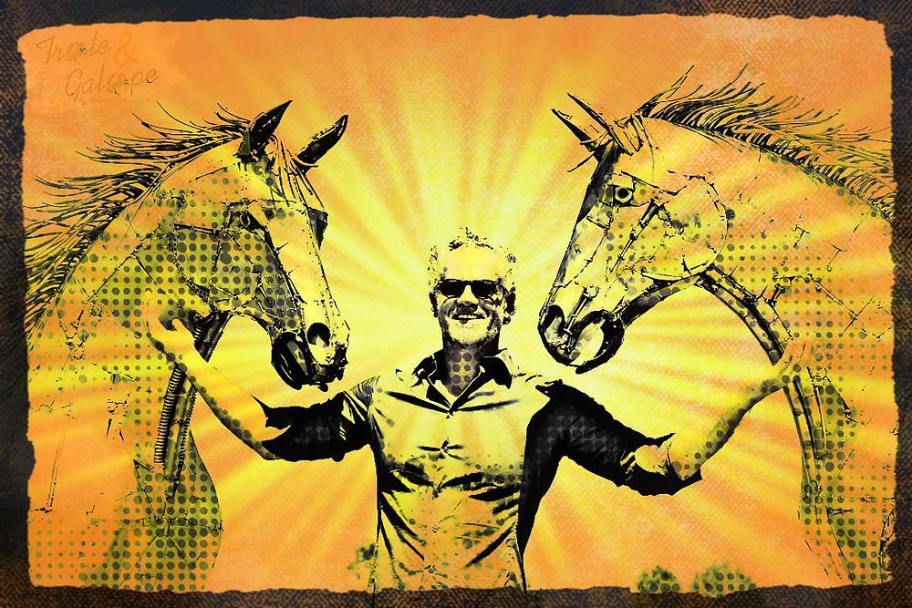 """Nesta semana, os quartistas que marcarem presença em Avaré - SP (de 12 a 18/10), nos eventos """"Potro do Futuro, Copa dos Campeões e Derby da Raça Quarto de Milha de Trabalho e Conformação"""", terão a oportunidade de conhecer algumas esculturas de cavalos QM  em tamanho real, criadas pelo artista plástico Zê Vasconcellos."""