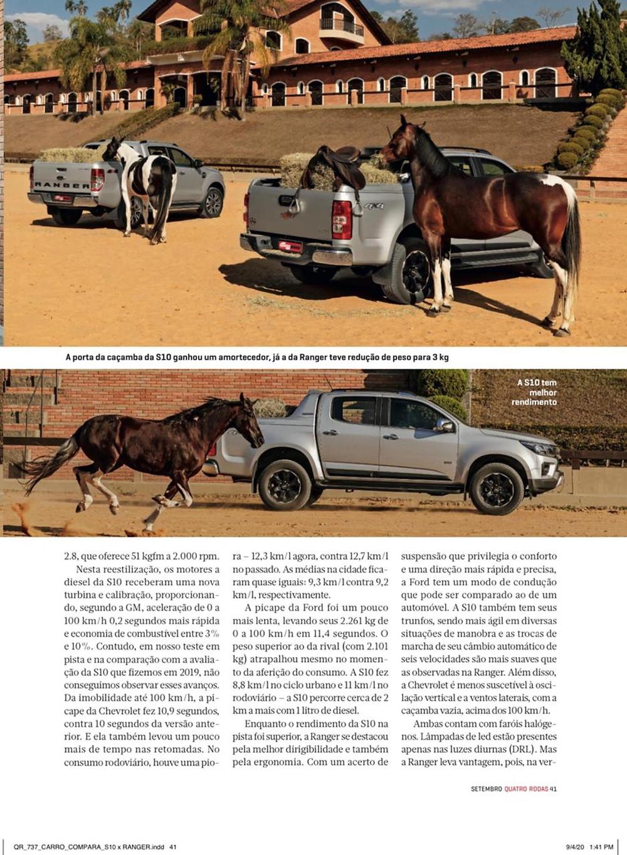 Reprodução revista Quatro Rodas - fotos Christian Castanho