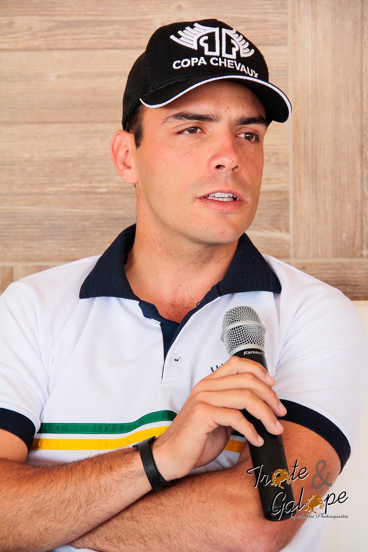 cavaleiro Stephan Barcha, confirmado nesta semana para o time brasileiro nas Olímpiadas Rio 2016,