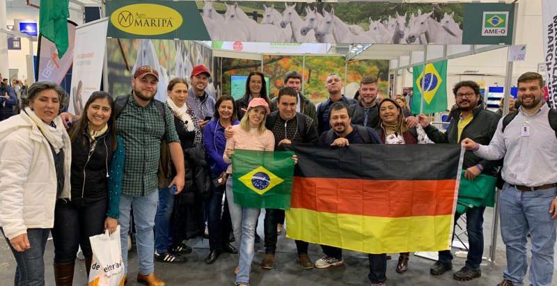 Missão Técnica Sebrae chega à Equitana e aumenta o número de brasileiros na feira