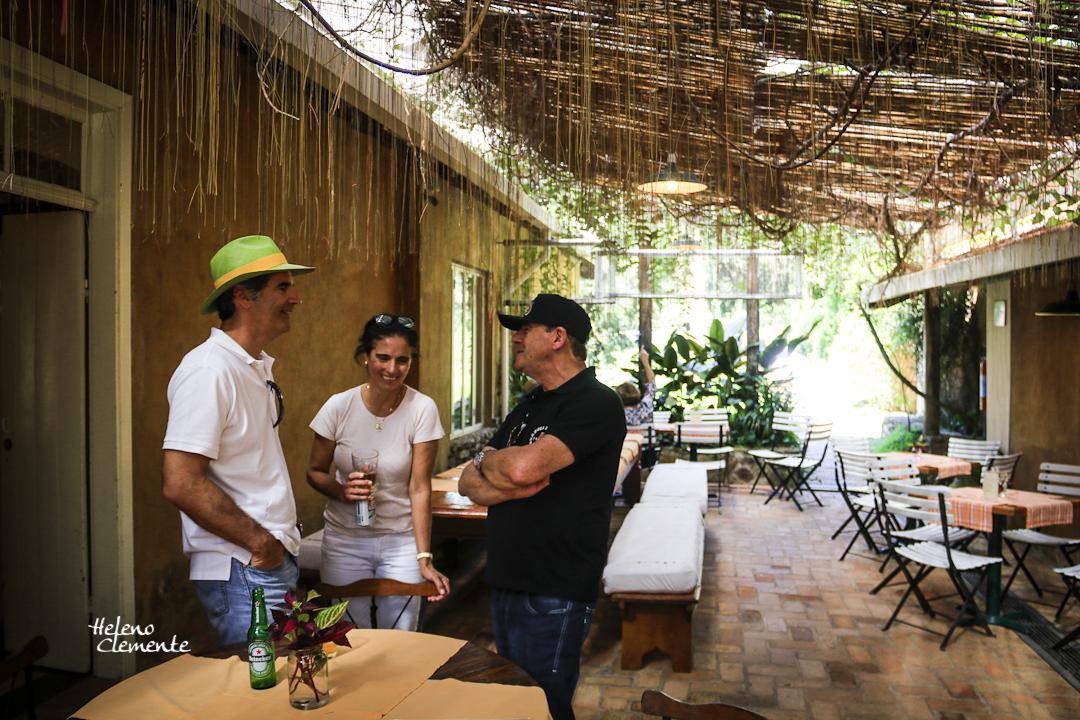 Eduard, Angela e Ronaldo