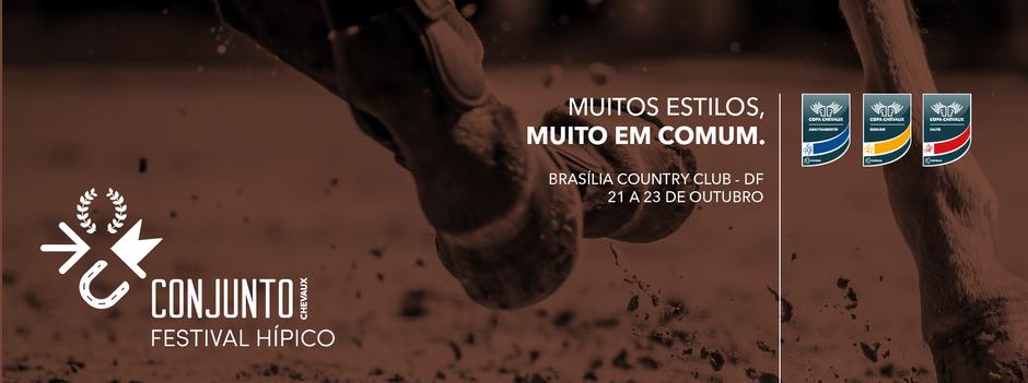 Brasília recebe evento hípico inédito com atrações para toda a família (22 e 23/10)