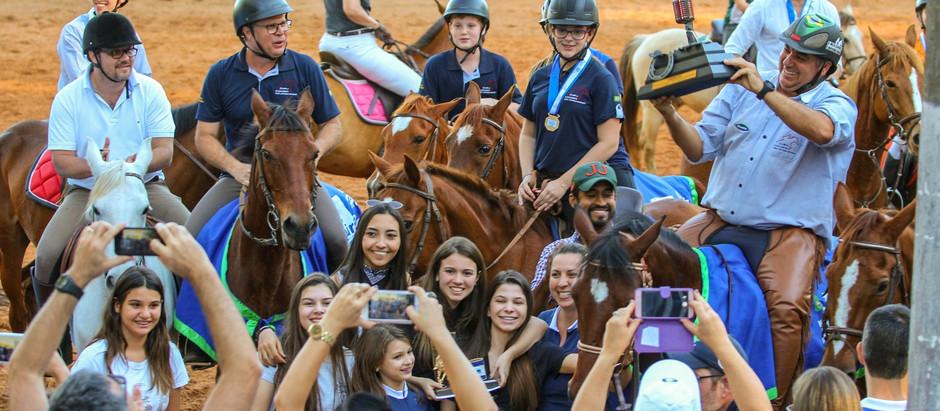 Saldo hípico do último fim de semana em Rio Claro: mais de 300 conjuntos na etapa