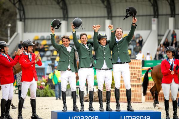 Time Brasil de Salto no Pan é ouro e hexacampeão na história dos Jogos