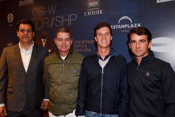 Ronaldo Bittencourt, Pedro Paulo Lacerda, Pedro Veniss e Marlon Zanotelli (Bruna Guerra)
