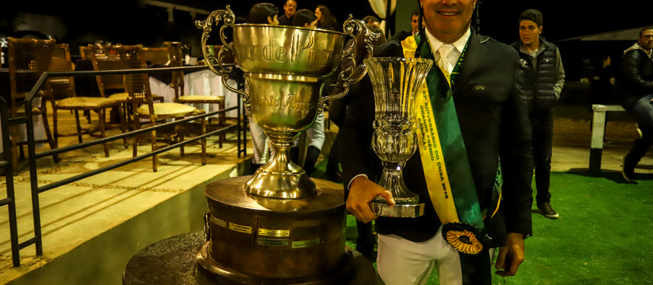 Artemus de Almeida conquista o tri no GP de Aniversário do Clube Hípico de Santo Amaro