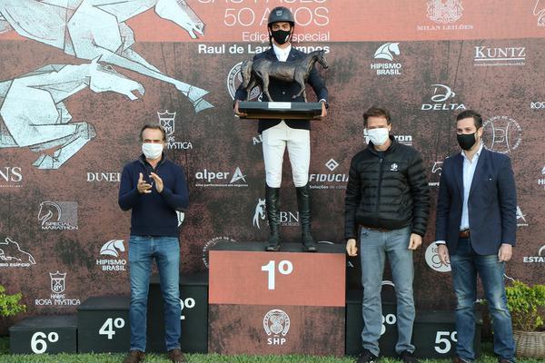 André Fonseca Moura: melhor cavaleiro da 50ª Copa São Paulo (C. May)