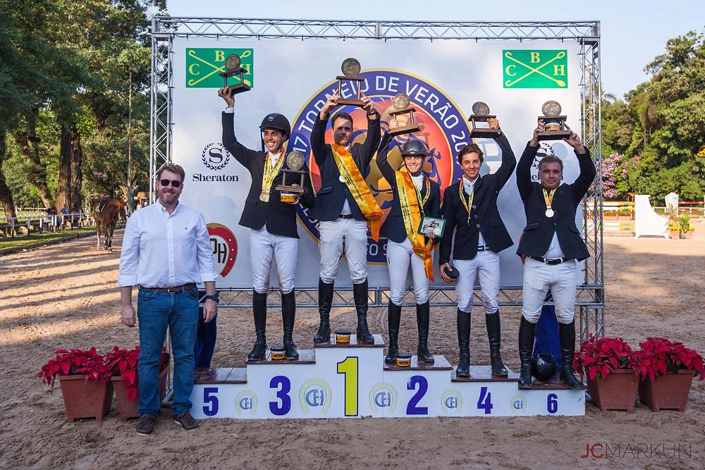 Pódio GP - 19/02 Campeão Fabio Sarti / Desteny - FPH - 0/0/51s18 Vice Daniela Lemos de Castro Teixeira / Levantus JMen - FPH - 1/1/66s62 3º Tiago Mesquita / Baptista - FPH - 0/4/52ss47 4º Pedro Egoroff / Wangu Cooper - FPH - 4/0/59s10 5º Tiago Mesquita / Ellechin Ter Door - FPH - 4/0/59s10 6º Artemus de Almeida / M.E.C.G Casillero - FPH - 4/4/50s81