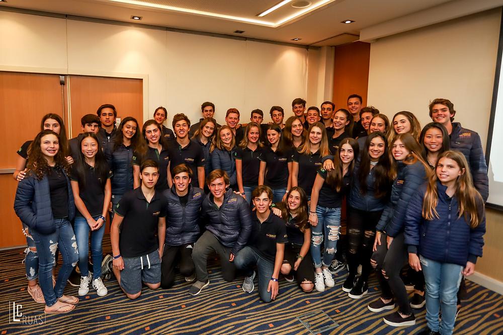 Delegação brasileira conta com 39 jovens talentos tops do Brasil (Luis Ruas)