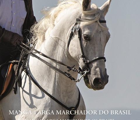 """""""MANGALARGA MARCHADOR DO BRASIL – A HISTÓRIA DA RAÇA E CAVALGADAS PELO MUNDO"""" é o livro que você pre"""