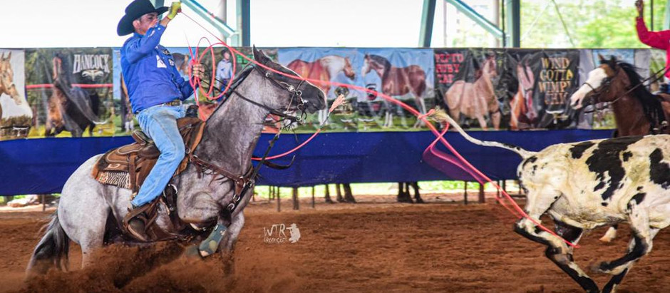 Filha de One Time Jr é destaque no Revolution Team Roping