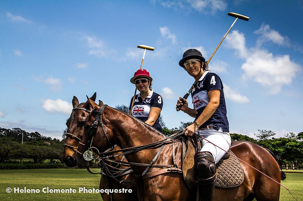 Polo Feminino, time inglês nos campos Helvetia Polo