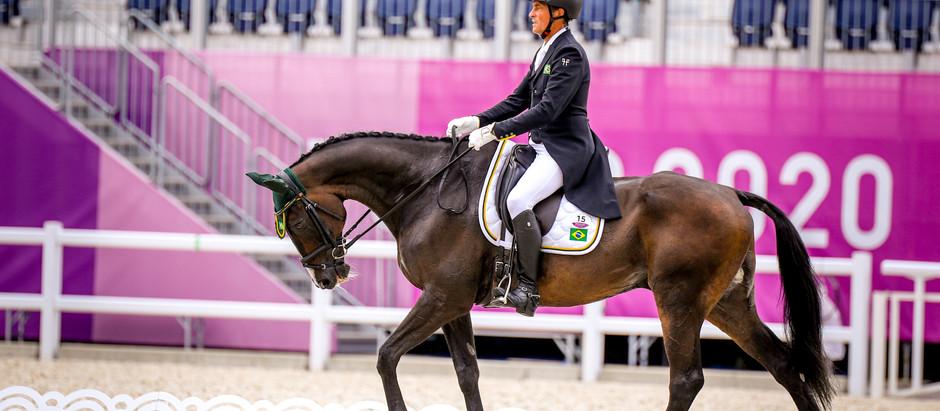 Time Brasil de Concurso Completo vira em 11º lugar após o Adestramento; hoje tem cross country