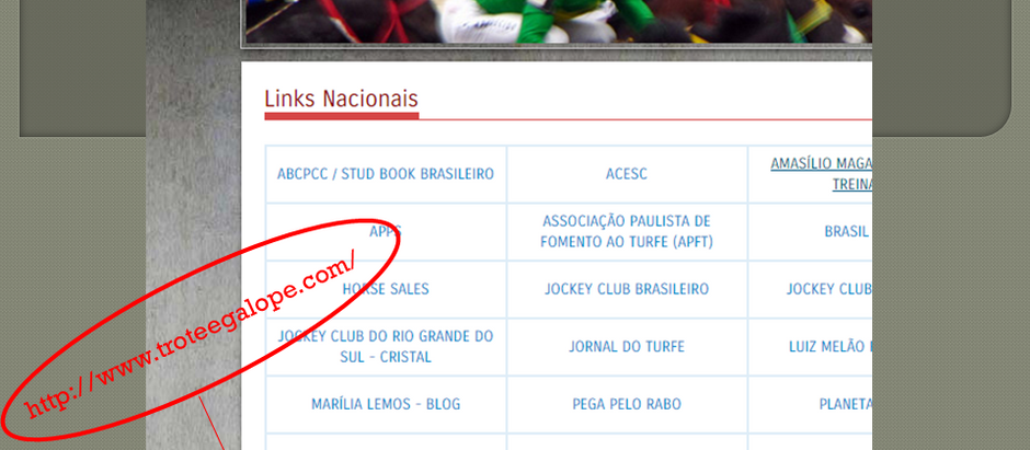 NOVIDADE: Trote & Galope está no site do Jockey Club SP