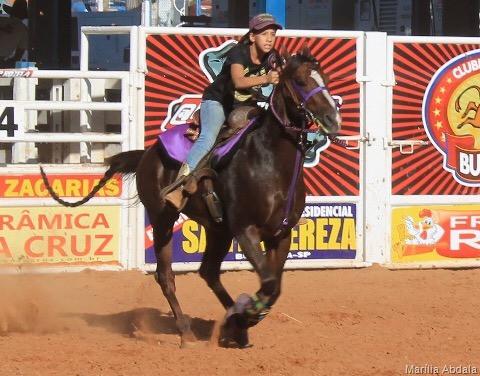 Marília Abdala, que competiu em Colorado, PR, por apenas 55 milésimos não permaneceu na classificatória que levou cinco competidores para a prova noturna.