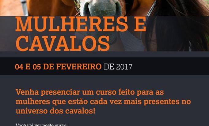 Cavalos & Mulheres inspiram curso na Universidade do Cavalo