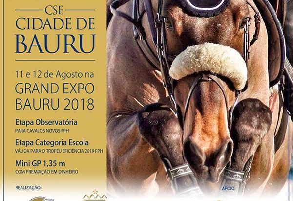 CSE CIDADE DE BAURU - Recinto de Exposições Mello de Moraes - 11 e 12/8