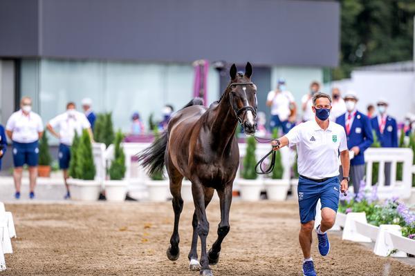 Tudo pronto para a largada do Concurso Completo de Equitação em Tokyo 2020