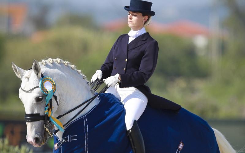 A despedida do garanhão lusitano foi anunciada por Raquel Falcão, que fará com ele a sua última prova no Campeonato Nacional de Dressage, em Portugal.
