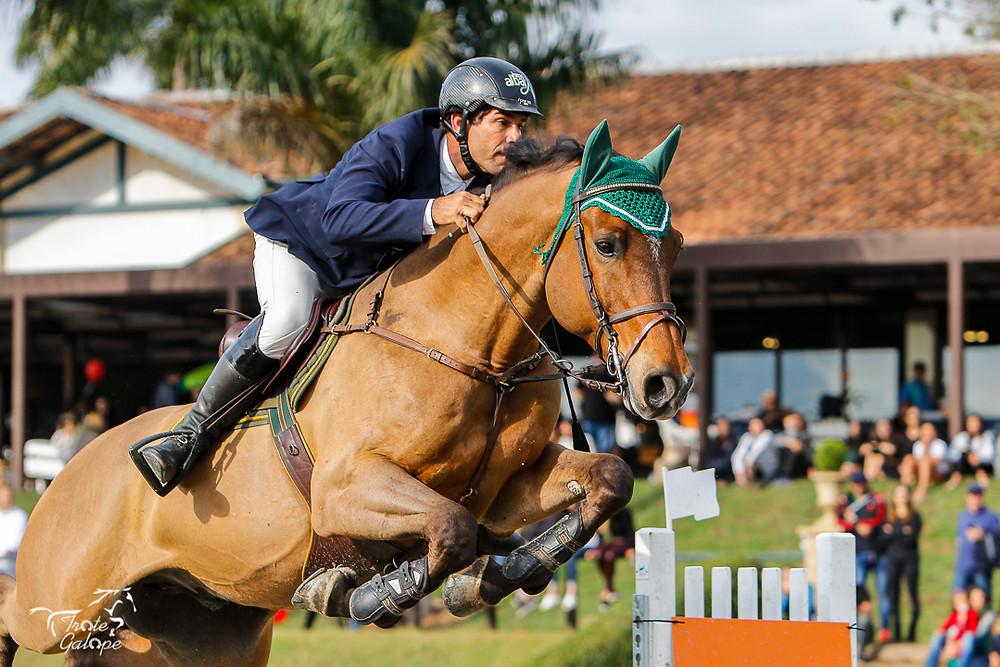 Marcos, Haras Albar, no 15º Concurso Hípico Quinta da Baroneza