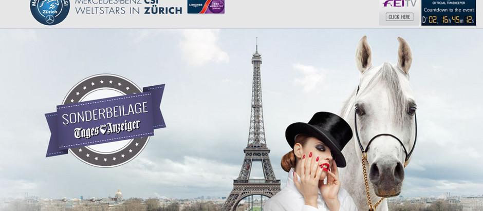 27º Mercedes-Benz CSI Weltstars in Zürich vai começar