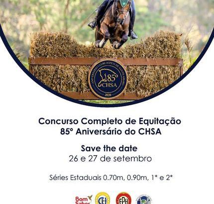 Concurso Completo de Equitação de volta ao CHSA após hiato de mais de 30 anos