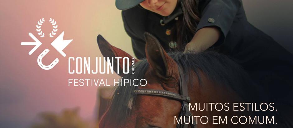 Conjunto Festival Hípico vai para sua segunda edição e conta com provas de Salto, Enduro e Adestrame