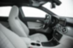 Painel de bancos do Mercedes-Benz GLA