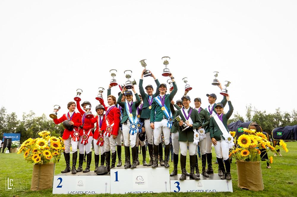 Ouro e bronze para os Juniores do Brasil (Luis Ruas)