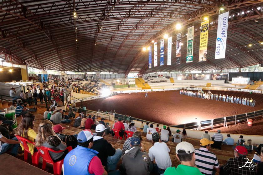 1ª etapa IX Campeonato NBHA-PR Data:17 a 20 de setembro Local:Parque de Exposições Francisco Ribeiro Feio – Maringá/PR.