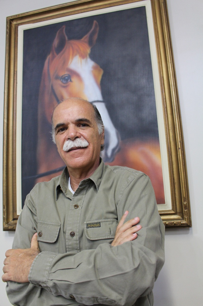 Luis Opice, dirigente mangalarguista debaterá o momento do segmento equestre (foto Marcelo Mastrobuono)