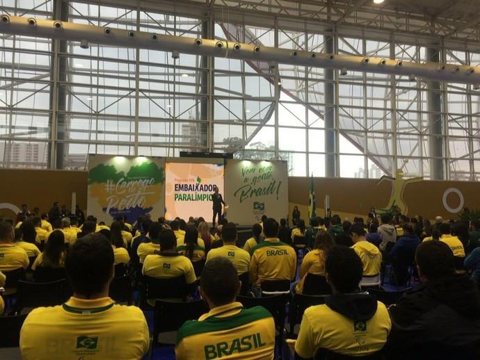 O Comitê Paralímpico Brasileiro (CPB) anunciou hoje, no Centro de Treinamento do Esporte Paralímpico Brasileiro, em São Paulo, os nomes dos 278 atletas que estarão nos Jogos Rio 2016, a partir de 7 de setembro.