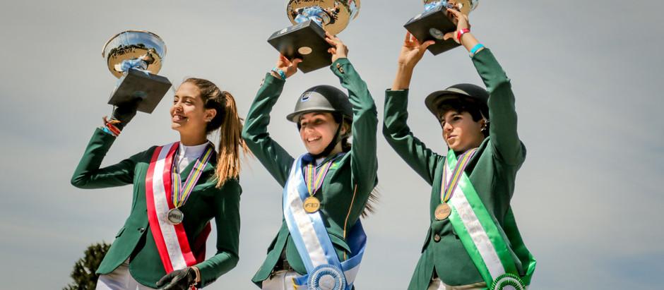 Brasil conquista 16 medalhas no Sul-Americano da Juventude 2017 na Argentina