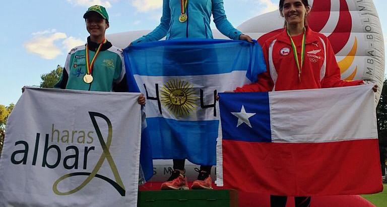 Victoria Marchesini: ouro no complexo olímpico em Deodoro/RJ e prata no sul-americano realizado na B