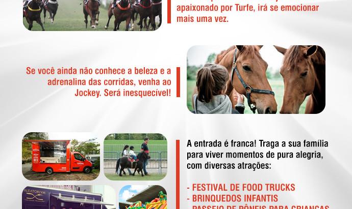 No domingo, dia 3 de Maio, todos os caminhos te levam ao Jockey Club de São Paulo