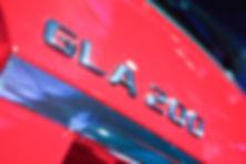 Detalhe do SUV Mercedes-Benz GLA