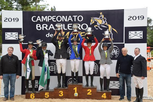 Os campeões brasileiros Master A (C. May)