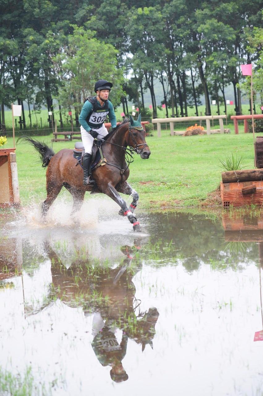 Márcio Appel está no Time Brasil dos Jogos Equestres Mundiais