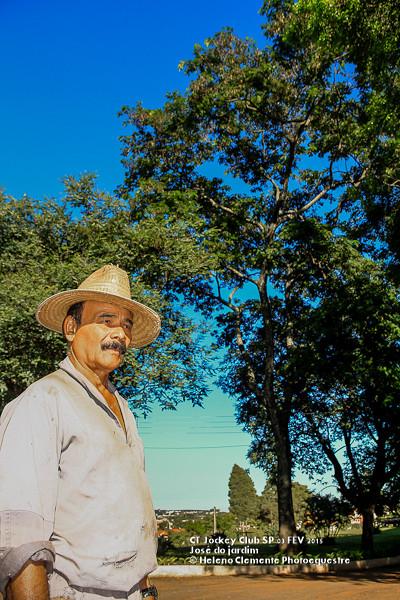 Jose do jardim e o Pau-Brasi com 30 anos, imponente.