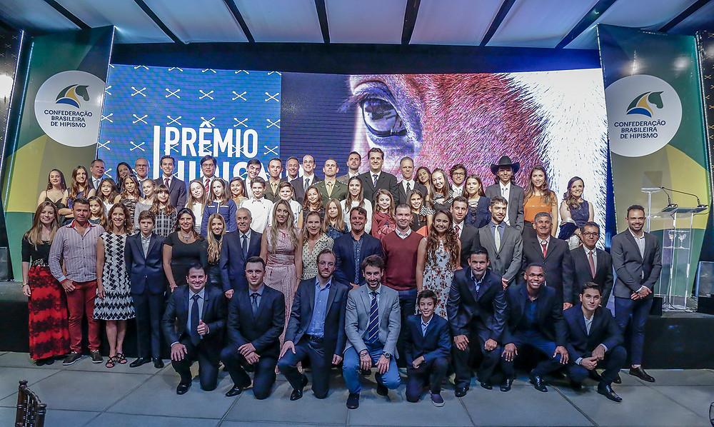 confraternização dos campeões do ranking e homenageados (Marcelo Pereira)