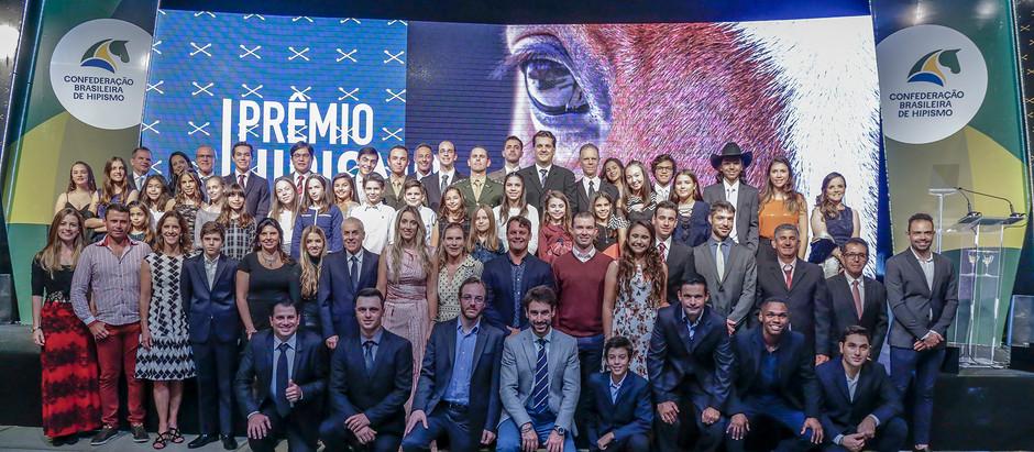 Prêmio Hipismo Brasil 2018 condecorou os melhores do ano na Sociedade Hípica Paulista