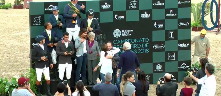 Zé Roberto Reynoso fatura o título brasileiro senior top 2018; agora ele é tricampeão