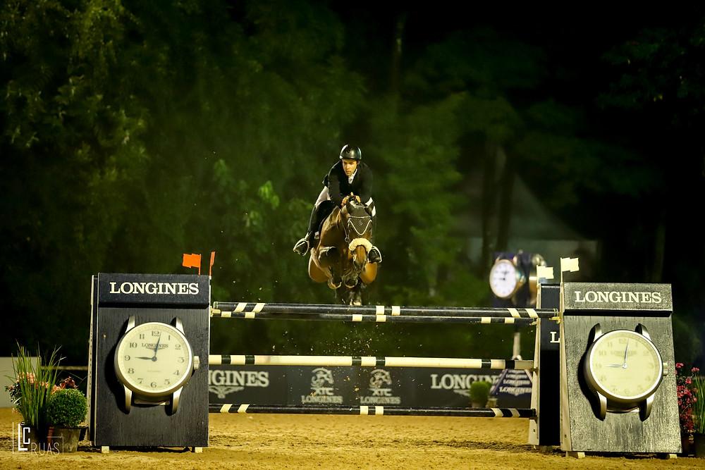 Ivo Roza Flho com Horse A Porter Enjoy da Cabana; 3º lugar  (Luis Ruas)