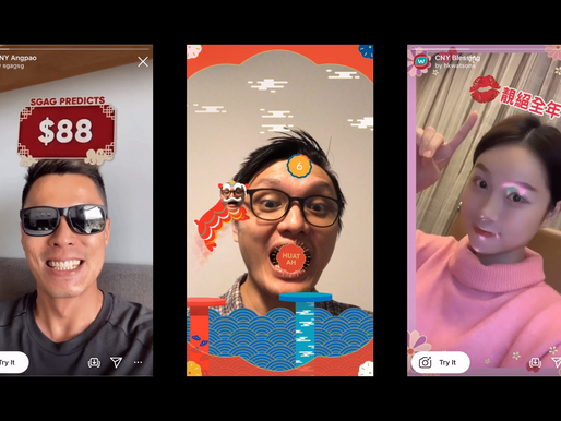 Celebrate Chinese New Year With Your Followers Using Instagram AR Filters