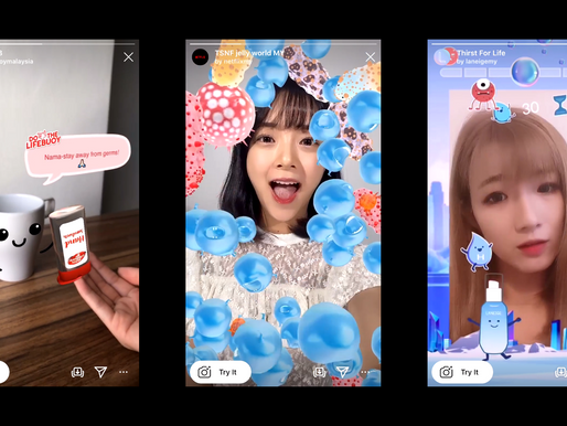 Brands in Malaysia That Used Instagram AR Filters For Their Marketing Campaign