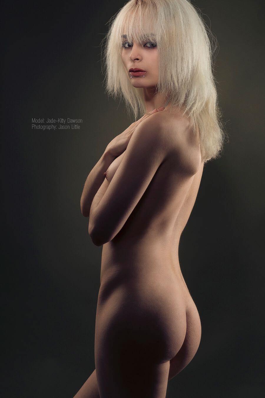 Blonde hair nude